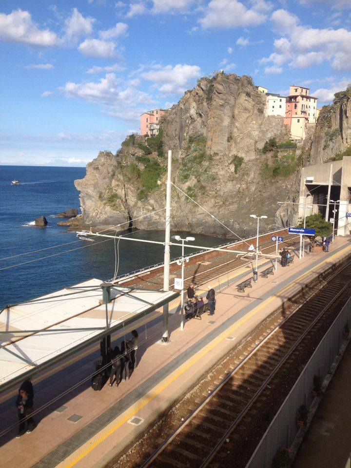 Station de train - Manarola