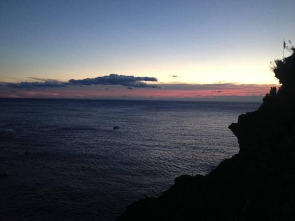 Début de soirée - Manarola