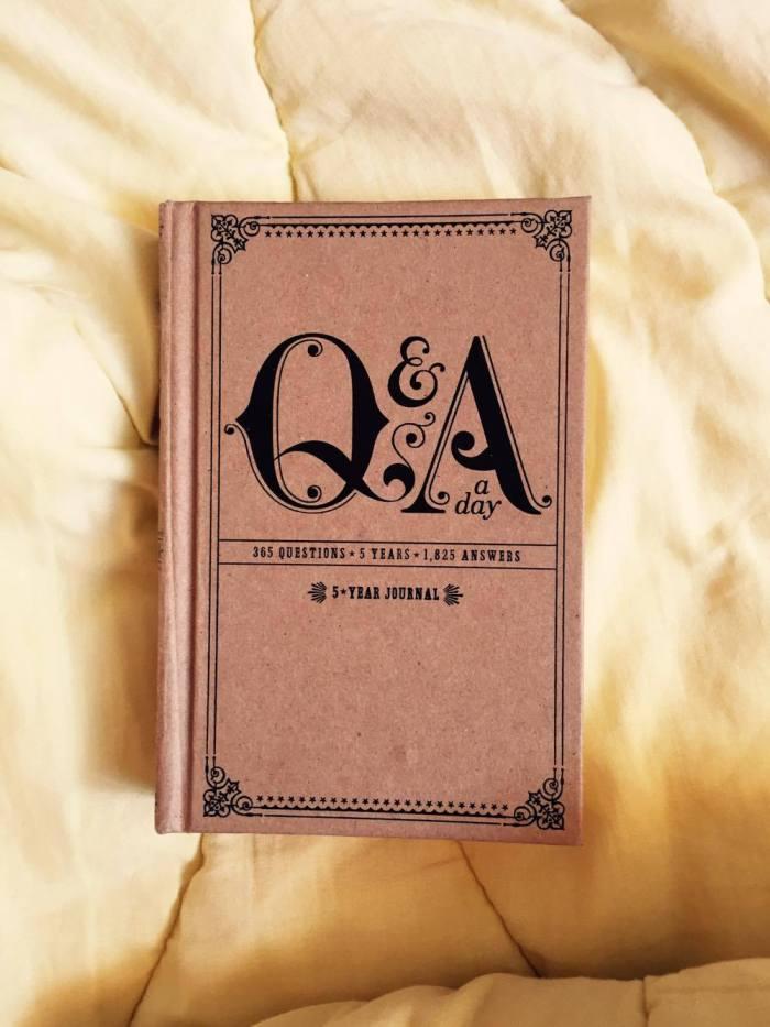 Q&A a day – 350 questions, 5 années, et une idée de cadeau pour Noël?