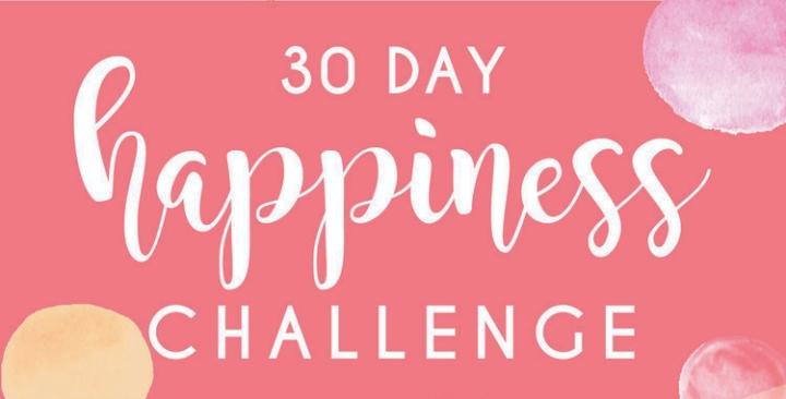 J'ai testé: le 30 days HappinessChallenge