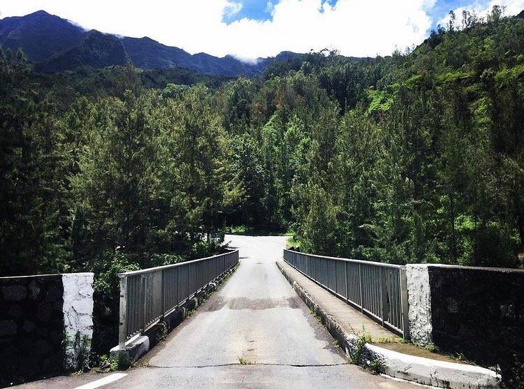Randonnée facile à Cilaos - Bras de Benjoins
